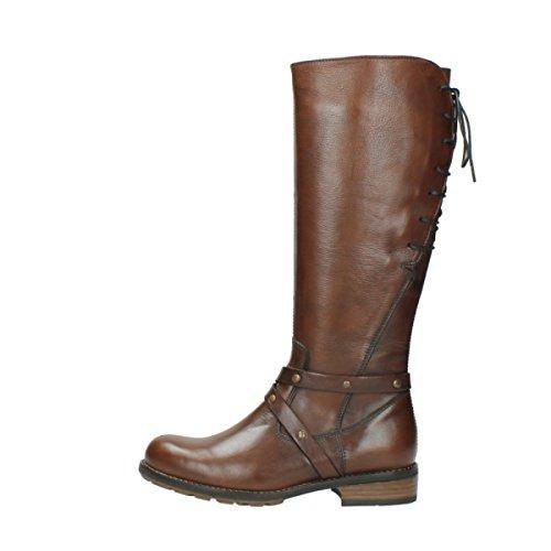 Wolky Comfort Boots Belmore 20430 Pelle Cognac