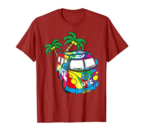 Peace Love Symbol Groovy Retro 60s Hippie Gift T-Shirts for $<!--$19.99-->