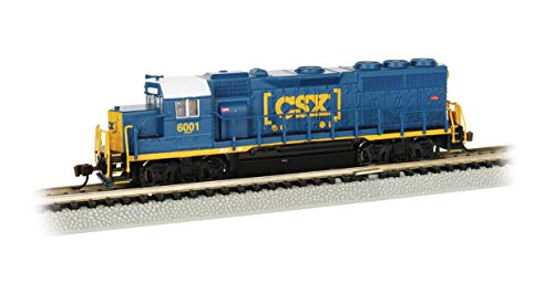 GP40 Dcc Sound Value Equipped Diesel Locomotive - CSX #6001 - N Scale