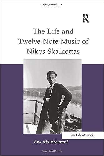 The Life and Twelve-Note Music of Nikos Skalkottas