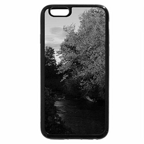 iPhone 6S Plus Case, iPhone 6 Plus Case (Black & White) - Autumn At Indian River