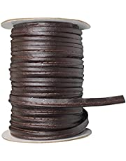 NC 50 Yards Leather Single Fold Bias Tape Maxi Piping Trim Welting Cord for Sewing Trimming Upholstery