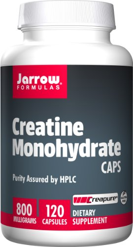 Jarrow Formulas Creatine Monohydrate Caps, Sports Nutrition, 800 mg, 120 Caps