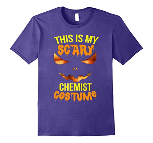 Mens This is my Scary Chemist Costume Halloween Shirt Large (Chemist Costume Ideas)