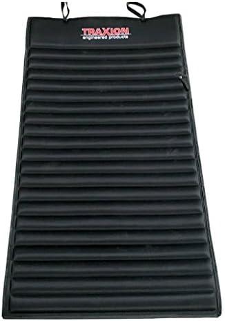 Traxion 1-500 VersaMat Roll-Up High Density Foam Utility Mat, Black
