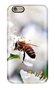Snap-on Case Designed For Iphone 6- Bee Gathering Pollen