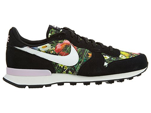 Nike W Internationalist Prm, Zapatillas para Mujer BLACK/SUMMIT WHITE-PRISM P