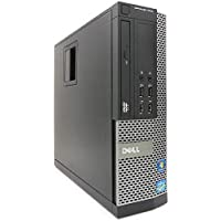 DELL 9010 - Ordenador de sobremesa(Intel Core i7-3770, 8GB de RAM, Disco 500GB HDD, Windows 10 Pro (Reacondicionado)
