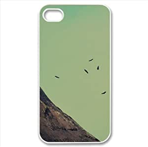 Vultures Watercolor style Cover iPhone 4 and 4S Case (Landscape Watercolor style Cover iPhone 4 and 4S Case)