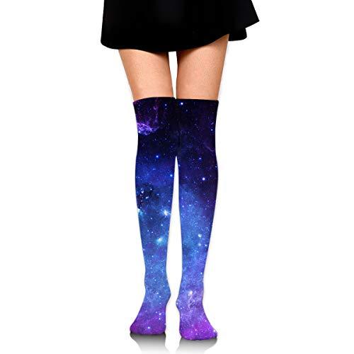 Women Tube Dresses Over The Knee Thigh High Stockings Cosplay Socks Welsh Corgi Dog Puppy And Lemon ()