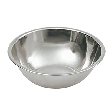 4 Quart Stainless Steel Mixing Bowl by The Cook's Connection