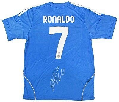 Image Unavailable. Image not available for. Color  Signed Cristiano Ronaldo  Jersey - COA) - PSA DNA Certified - Autographed Soccer Jerseys be7e7c290fc