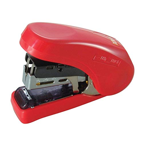 MAX HD-10FLR Flat-Clinch Light Effort Stapler Red