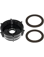 Blendin Base Bottom Cap With 2 Rubber O Ring Gaskets, Compatible with Oster and Osterizer Blenders