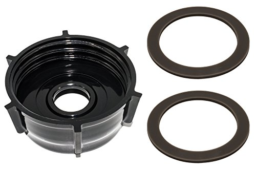 Blendin Base Bottom Cap With 2 Rubber O Ring Gaskets, Compatible with Oster and Osterizer ()