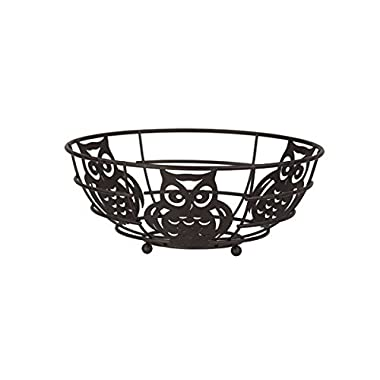 Home Basics Owl Fruit Bowl