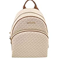 MICHAEL Michael Kors Abbey Jet Set Large Leather Backpack (Vanilla 2018)