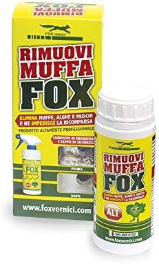 elimina moho Fox toglimuffa sanea paredes mampara de ducha elimina musgo 0.250 ML: Amazon.es: Bricolaje y herramientas