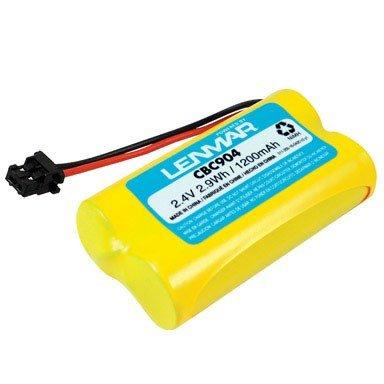 Lenmar Cordless Phone Battery 2.4 V 1200 Mah Case (Lenmar Cbc904 Cordless Phone Battery)