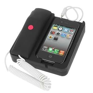 Iphone 4 4S Gran Casa de teléfonos móviles con estilo y elegante anti-radiación casos base