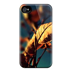Durable Case For The Iphone 4/4s- Eco-friendly Retail Packaging(autumn)