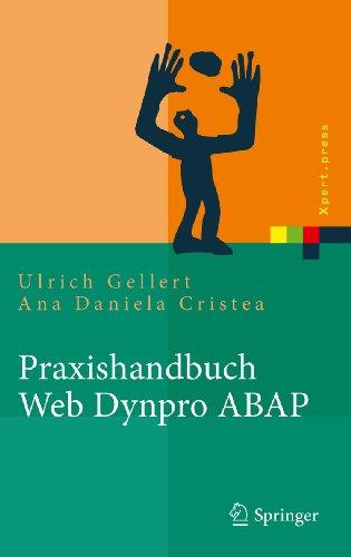 Praxishandbuch Web Dynpro ABAP (Xpert.press) (German Edition) Pdf