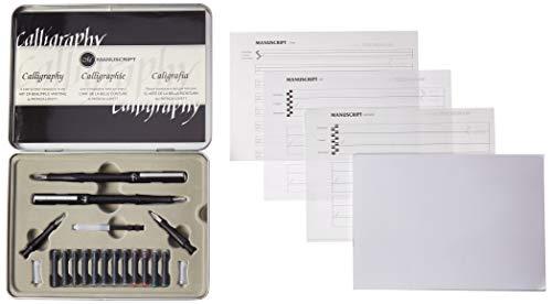 - Manuscript Pen MC160L Masterclass Calligraphy Set, Multicolor