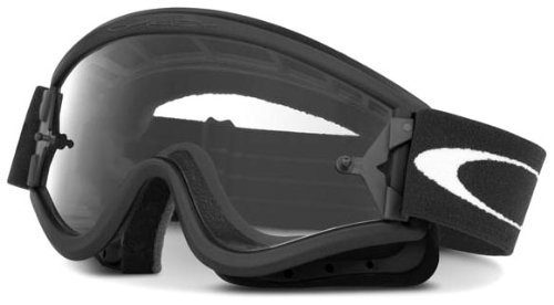 Oakley L-Frame MX Goggles with Clear Lens