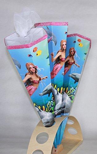 KidsCone Mermaid - (Round) Schultüte Zuckertüte (27