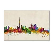 Trademark Fine Art Toronto, Canada Canvas Wall Art by Michael Tompsett, 22 by 32-Inch