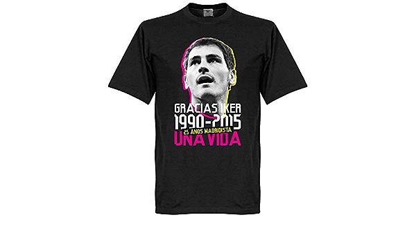 Retake Gracias Iker Casillas Camiseta - Negro