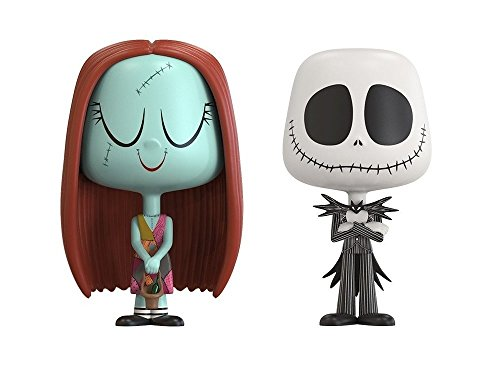(Funko VYNL: The Nightmare Before Christmas Jack & Sally Collectible Figure)