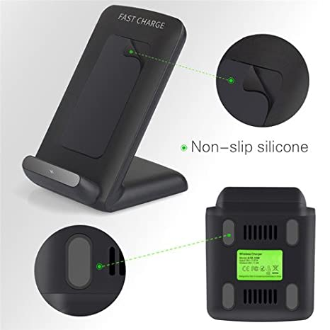 Amazon.com: Fast Charge Wireless Charger for LG V35 ThinQ,G7 ThinQ (US Version Only),V30S ThinQ, G6 (U.S. Versions), G6+ (Black): Cell Phones & Accessories