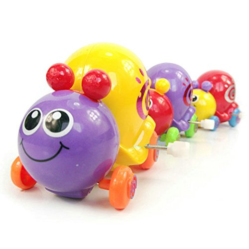 Ameesi 1Pc Random Color Wind Up Toys Clockwork