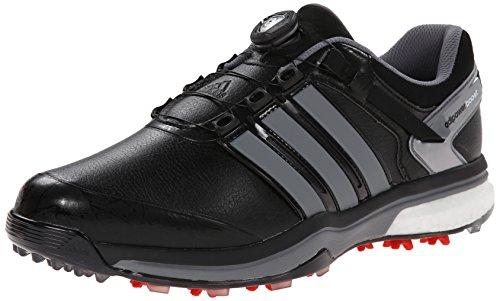 Adidas Men's Adipower Boa Boost Golf Shoe - Core Black/Ir...