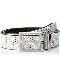 Men's Perforated Reversible Belt