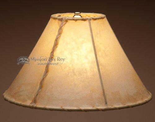 "Southwestern Rawhide Lamp Shade 14"""