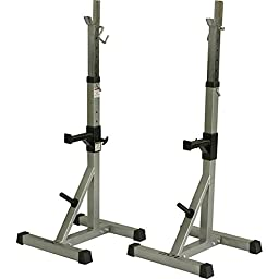 Valor Fitness Deluxe Squat Stands