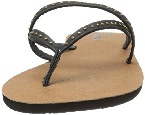 Womens Flip Flop Volcom All Day Long - Creedlers Nero (Eu 39 / Us 8.5 , Nero)
