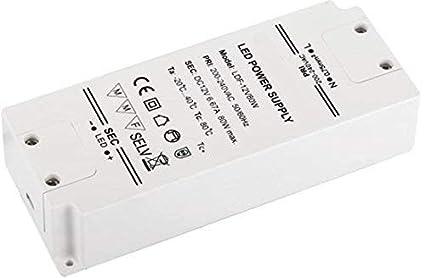LED Transformator - 230V auf 12V - LED geeignet - Mindestlast 1W - ideal fü r LED Lichtband und Leuchten (54 Watt) HAVA