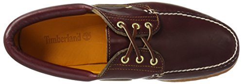 brown Eye Trad Timberland Lug Homme Hs Burgundy 3 Chaussures Basses tztxFq6