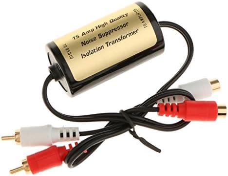 カー ステレオ 2チャンネル 騒音除去 ノイズフィルタ サプレッサー 簡単に操作