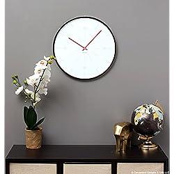 Karlsson Wall clock - Thin Line - Round White Clock