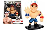 NEW 4'' JADA TOYS ACTION FIGURE COLLECTION - METALS WWE JOHN CENA M205 Action Figures By Jada Toys
