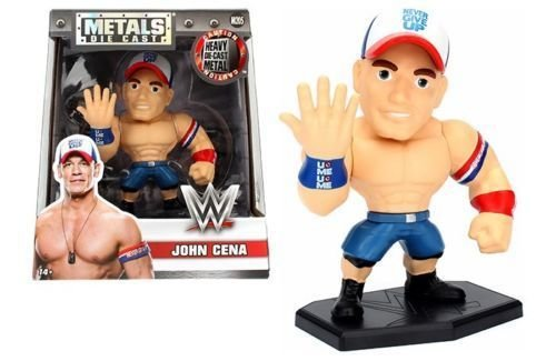 NEW 4'' JADA TOYS ACTION FIGURE COLLECTION - METALS WWE JOHN CENA M205 Action Figures By Jada Toys by Jada