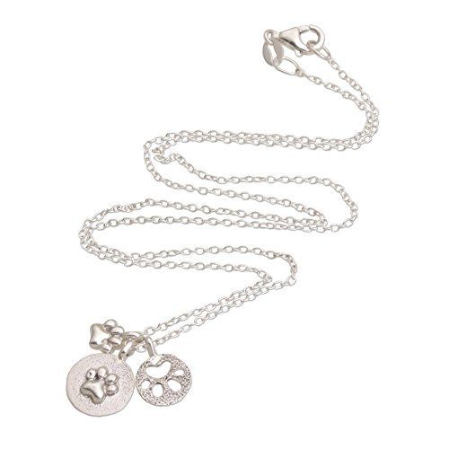 NOVICA .925 Sterling Silver Pendant Necklace, 16.5