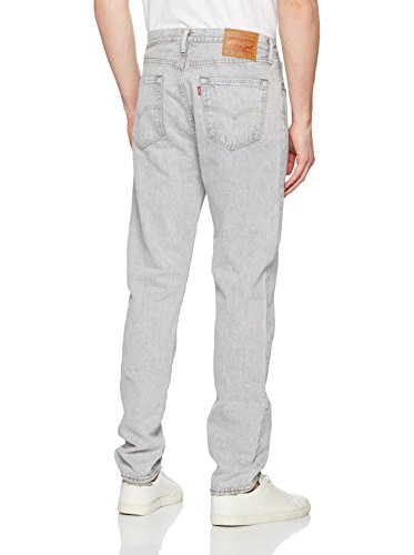 Jeans Levi's 501 Customized Tapered Grey Bulldog Gris Clair Homme