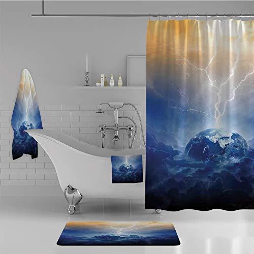 Cloud Window Curtains 3d Printing Nautical Home Decor: Tampa Bay Lightning Curtain, Lightning Curtain, Lightning