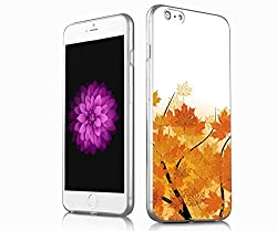 V.point iPhone 6S Cover Colorful Clear Slim Case, iphone 6 cover case, the latest new design for iphone 6S,6 -the autumn of maple