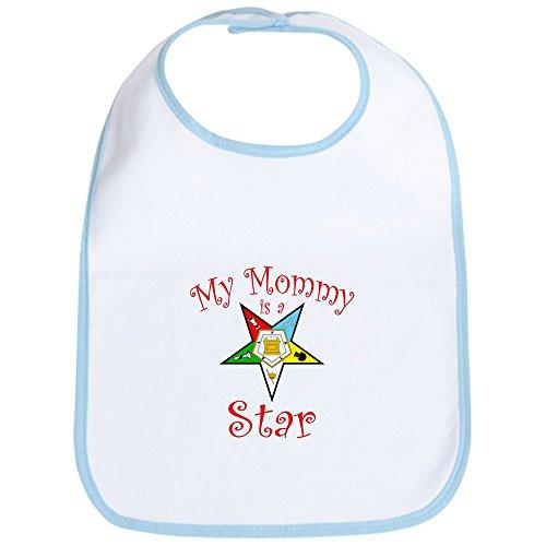 CafePress - My Mommy's A Star Bib - Cute Cloth Baby Bib, Toddler Bib